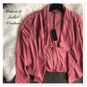 Romeo & Juliet Couture Suede Jacket - NWT